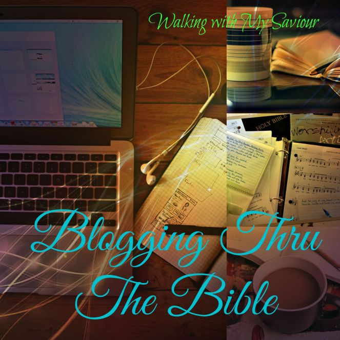 Blogging thru Bible New