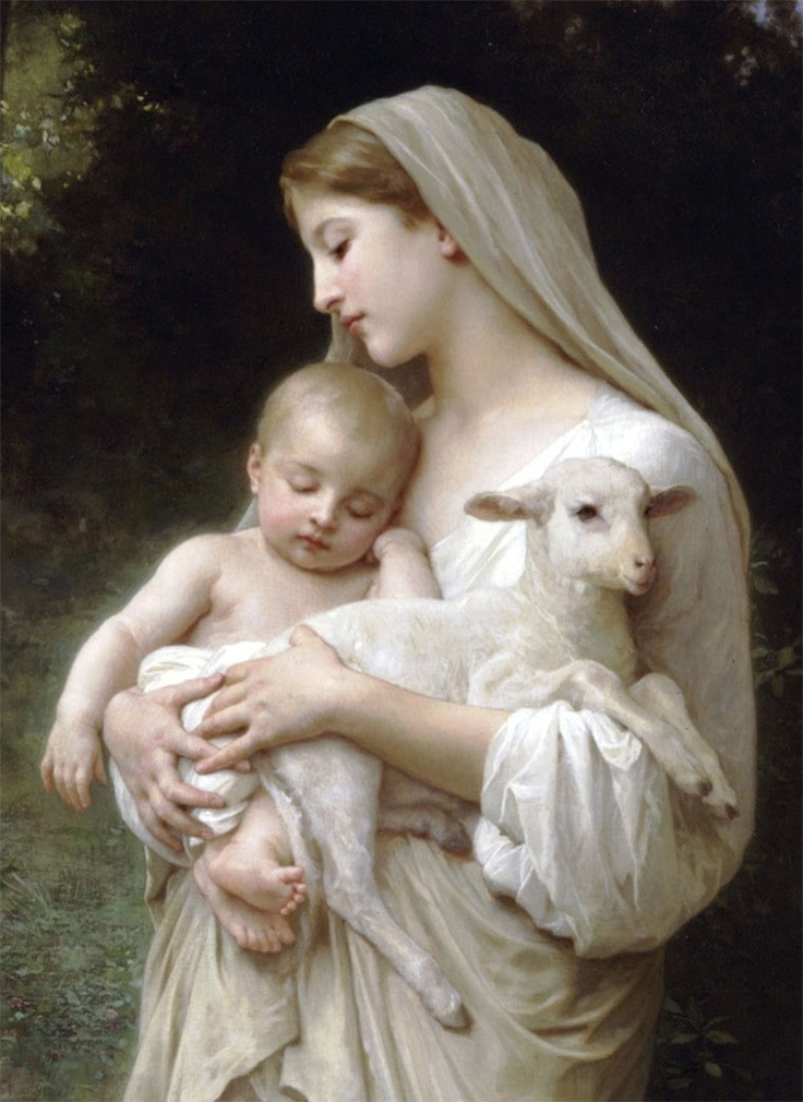 Mary_and_the_Lamb