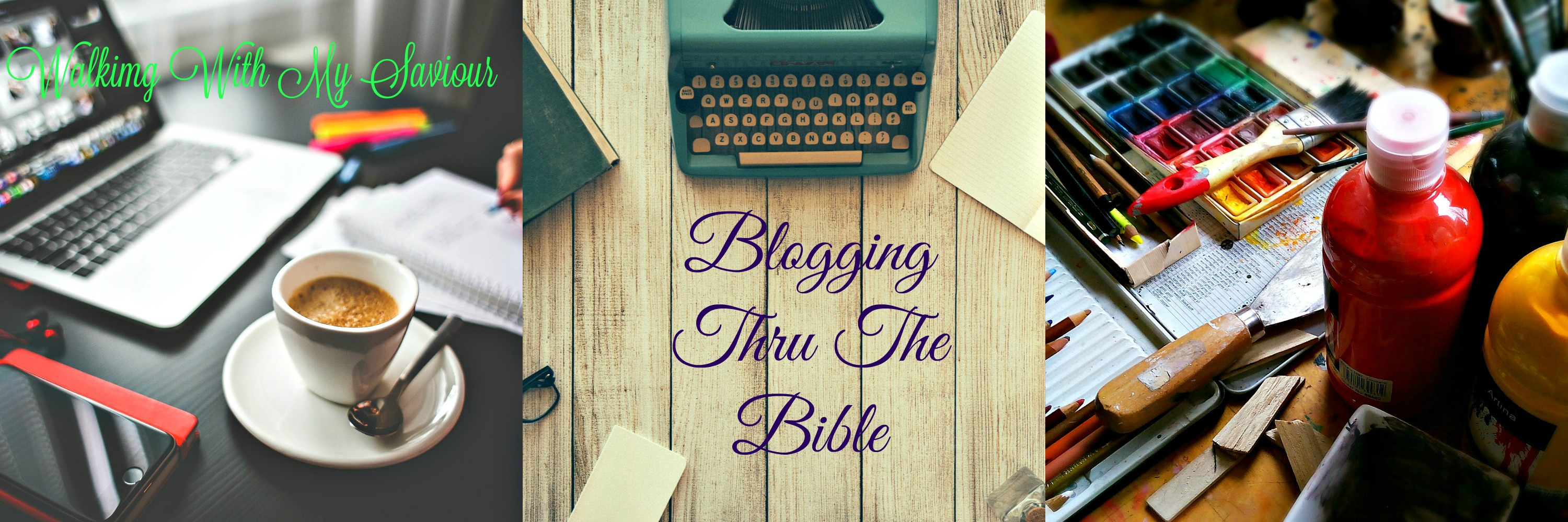 BLOGGING THRU THE BIBLE:  Weekly Challenges & Resources for Rest & Release
